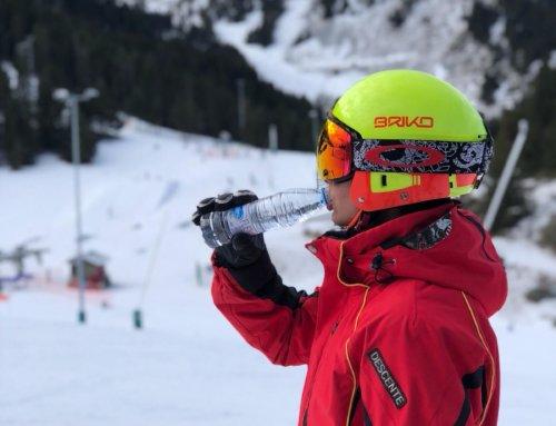 Bevem prou aigua quan esquiem?